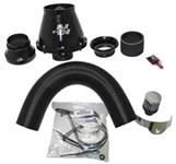 K&N Apollo Intake Kit - VW Bora  1.8i Turbo mit 25mm Schlauch am Filterkasten 150/180 PS